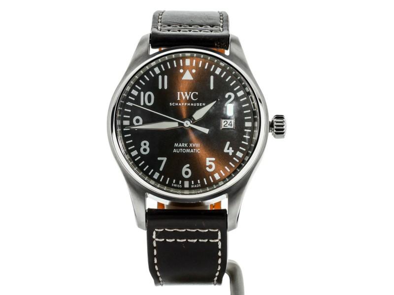 IWC Pilots Watch Mark XVIII St. Exupery 40mm IW327003 COMPLETE SET