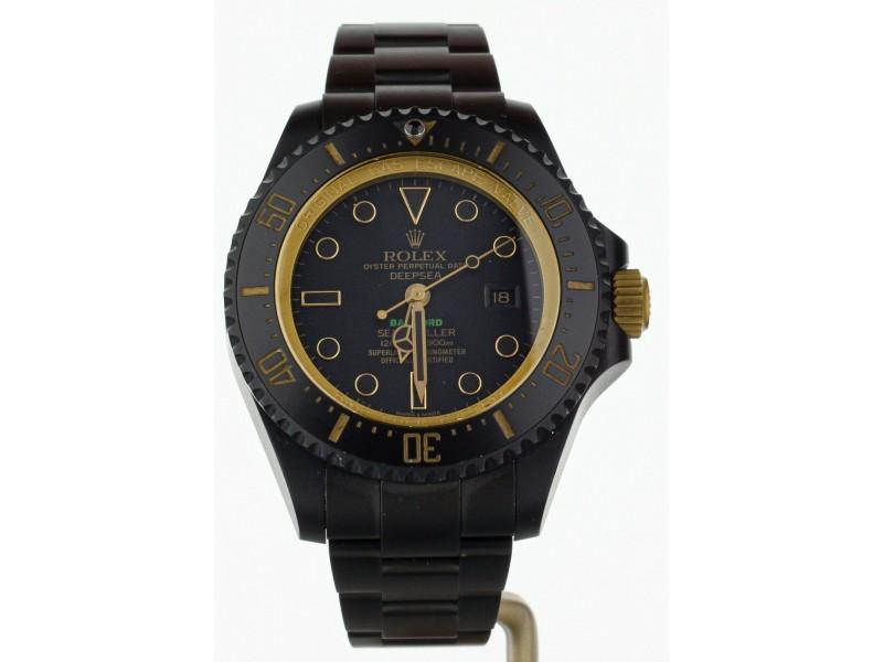 Rolex Sea Dweller Deep Sea Bamford all Black
