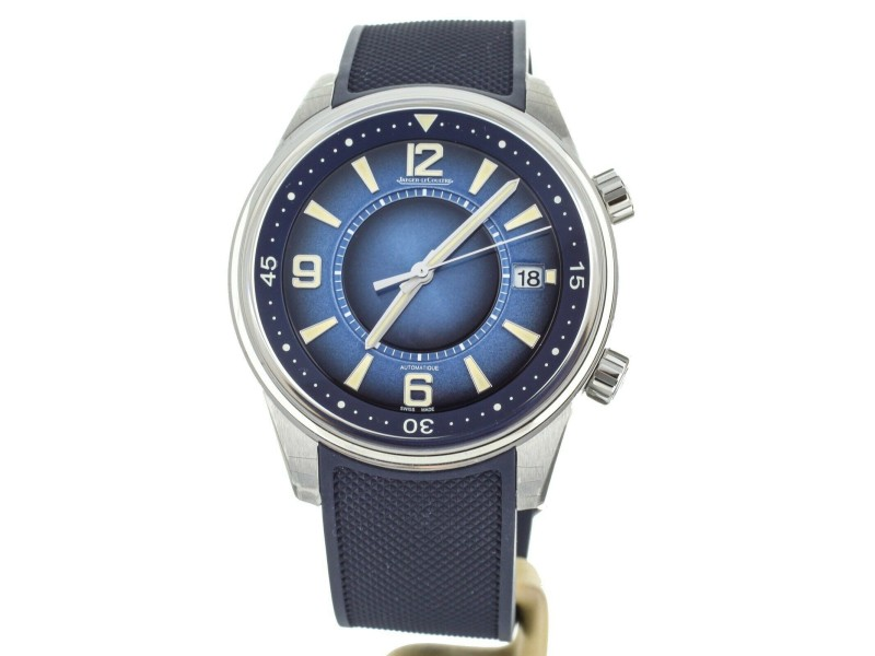 Jaeger-LeCoultre Polaris Date Blue Dial Limited Edition 42mm Q9068681 Full Set