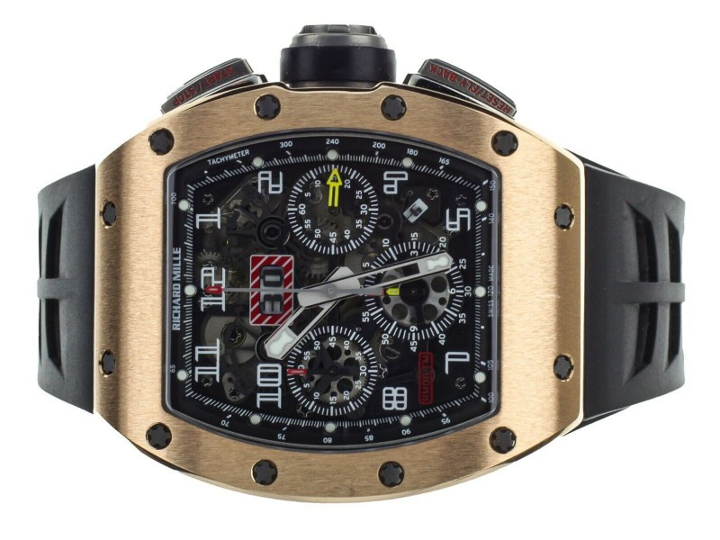 Richard Mille RM011-FM Rose Gold Titanium Chronograph Annual Calendar GMT