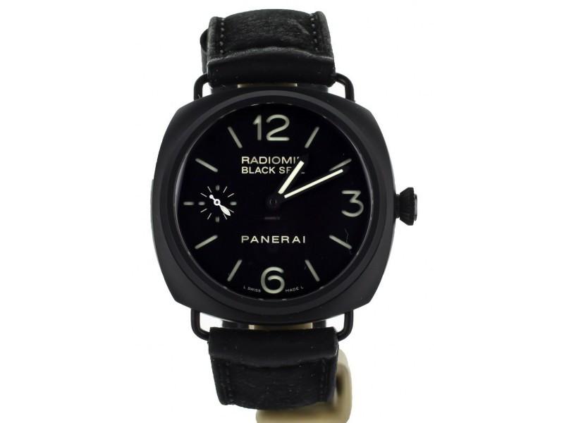 Panerai Black Seal Radiomir 45mm Ceramic ref: PAM0292 Complete Set