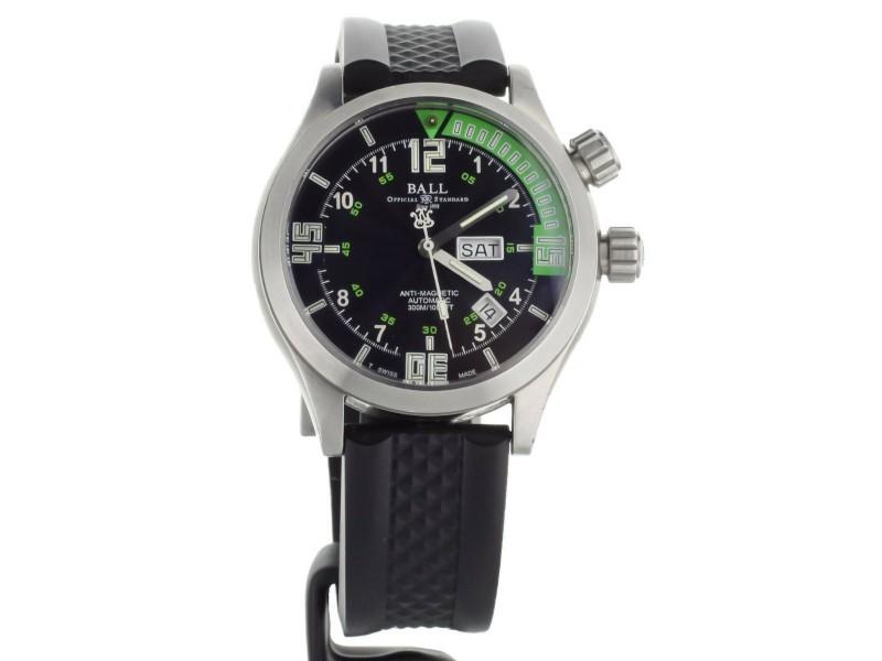 Ball Engineer Master II Diver Black Green 42mm DM1020A-PAJ-BKGR Full Set