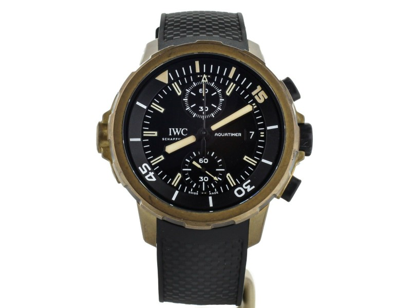 IWC AQUATIMER EXPEDITION CHARLES DARWIN BRONZE CHRONOGRAPH 44MM IW379503