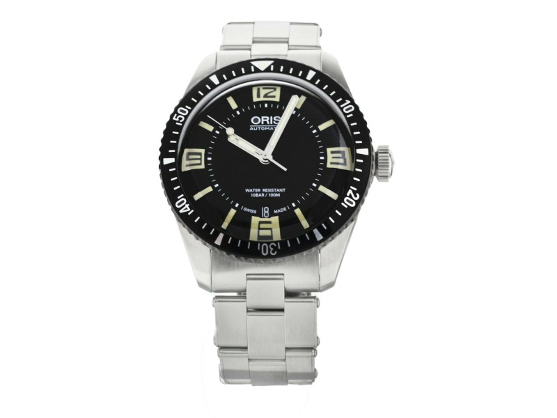 Oris Diver Sixty Five 40mm Stainless Steel Black Dial 01733770740640782018