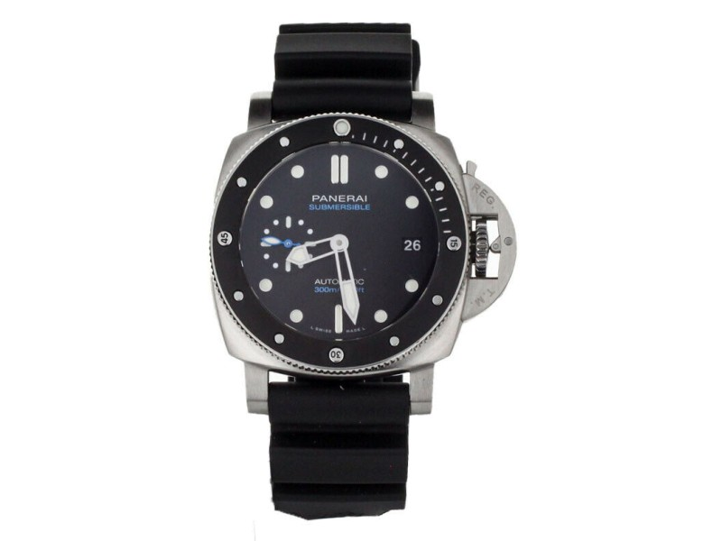 Panerai Submersible 42mm Ceramic Bezel Stainless Steel PAM 683 Complete Set