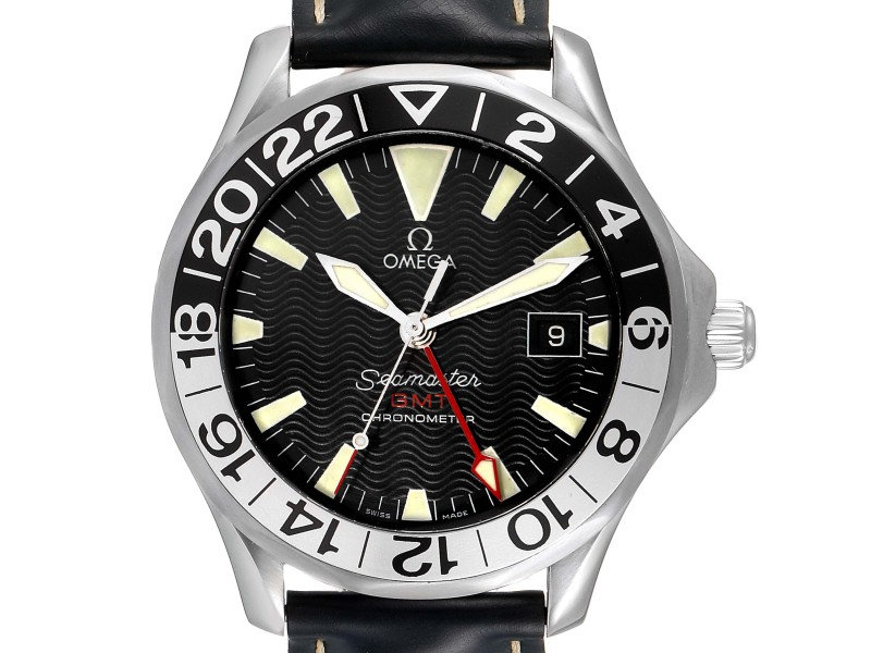 Omega Seamaster GMT 50th Anniversary Steel Mens Watch 2534.50.00