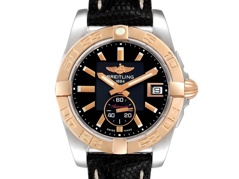 Breitling Galactic 36 Stainless Steel Rose Gold Watch C37330