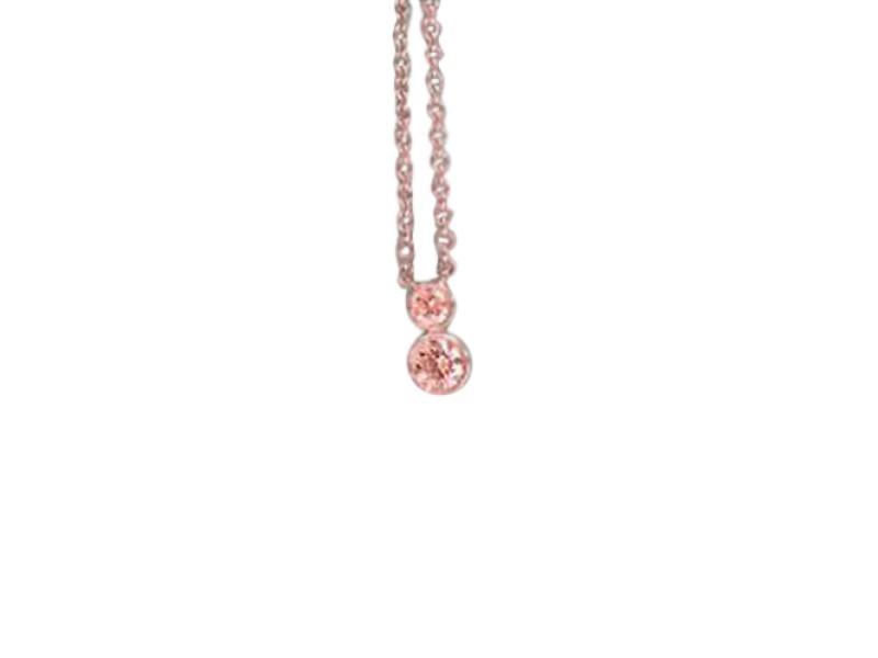Tiffany & Co. Jazz 950 Platinum & 0.19ct Diamond Drop Necklace