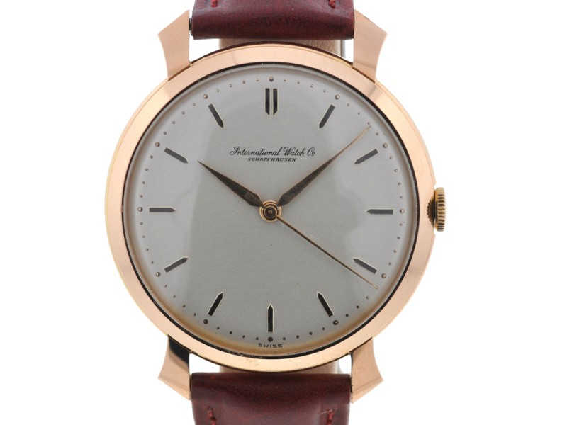 IWC Vintage Rose Gold 32mm Manual Wind Watch