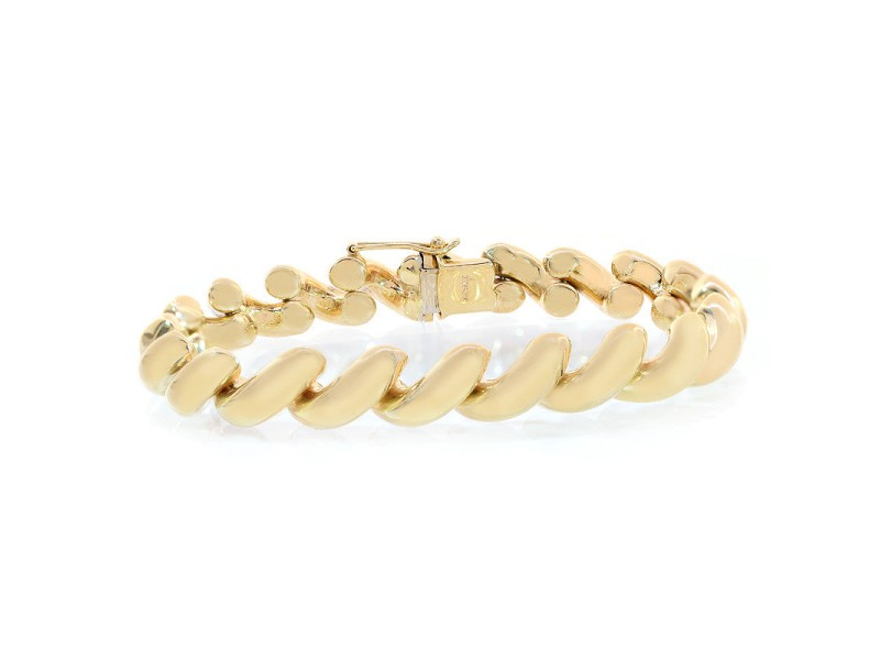 Avital & Co. 14K Yellow Gold San Marco Fancy Bracelet
