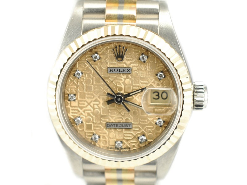 Rolex 69179B President Datejust 18K Yellow Gold & Stainless Steel Watch