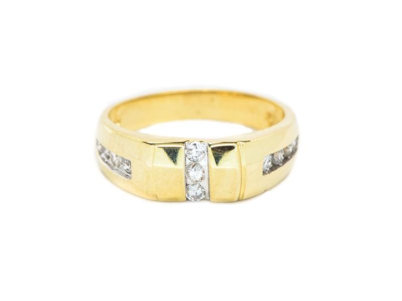 14K Yellow Gold 0.30 ct. Diamond Ring