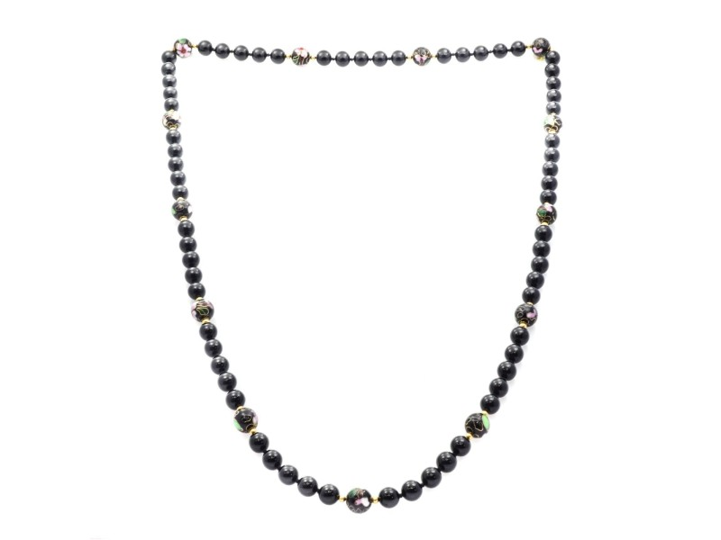 Agate, Onyx Womens Necklace