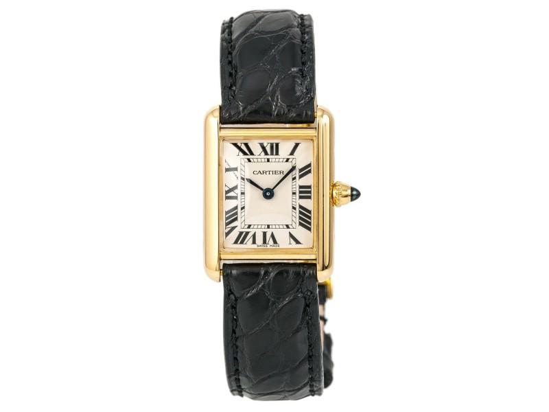 Cartier Tank Louis W1529856 22mm Womens Watch
