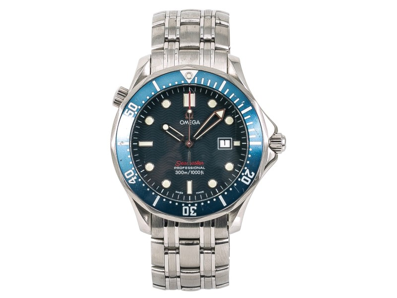Omega Seamaster 2221.80 41mm Mens Watch