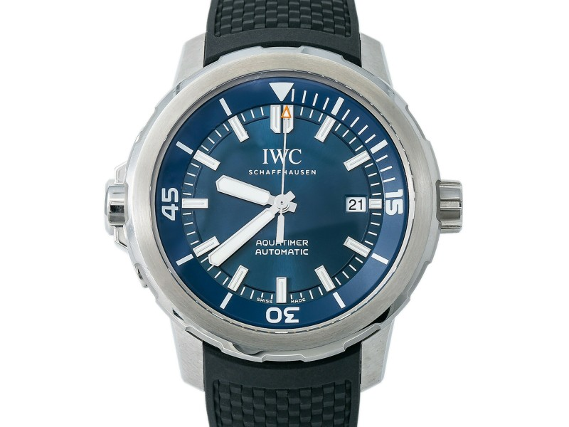IWC AquaTimer Expedition Jacques-Yves Cousteau IW329005 Men Automatic W/B&P 44mm