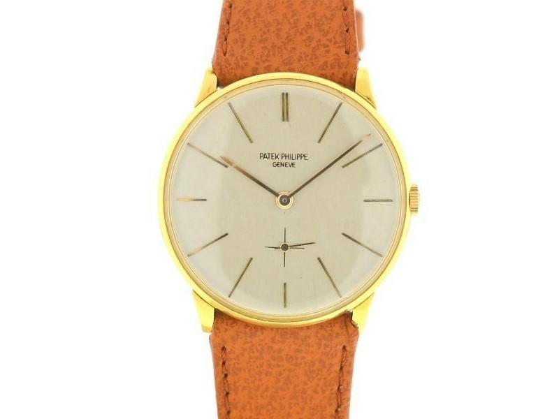 Patek Philippe Vintage Calatrava 2573/2 Yellow Gold Manual Wind Watch