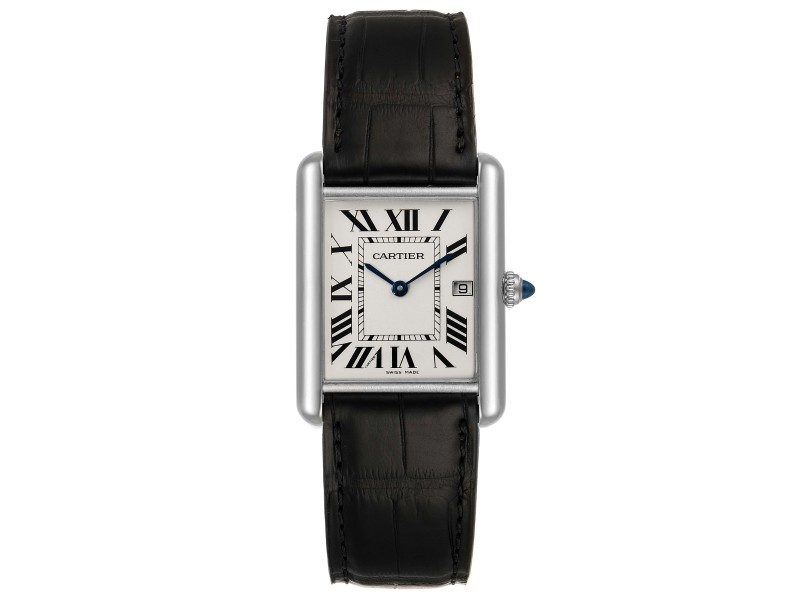 Cartier Tank Louis Large White Gold Unisex Watch W1540956