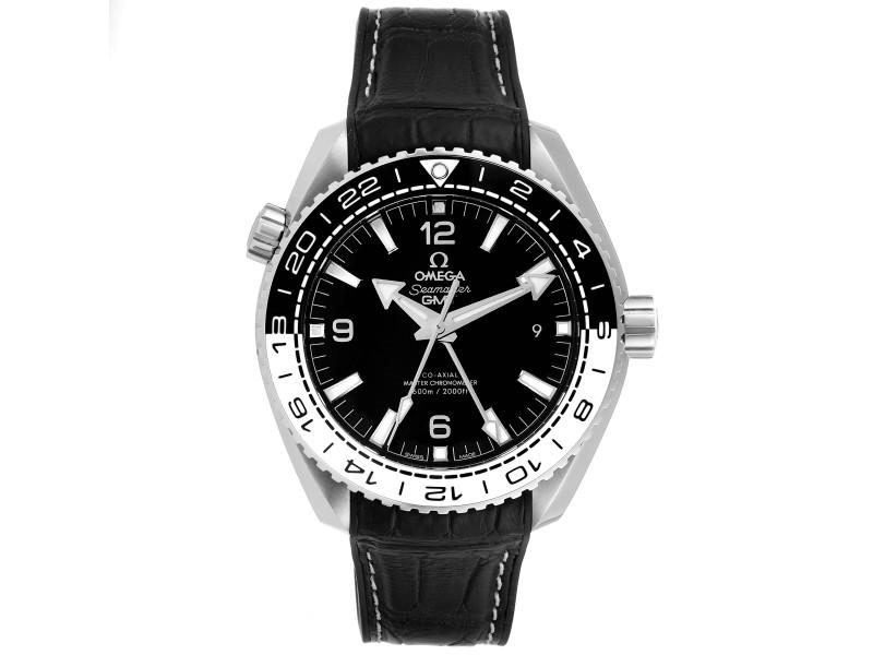Omega Seamaster Planet Ocean GMT 600m Watch 215.33.44.22.01.001 Box Card