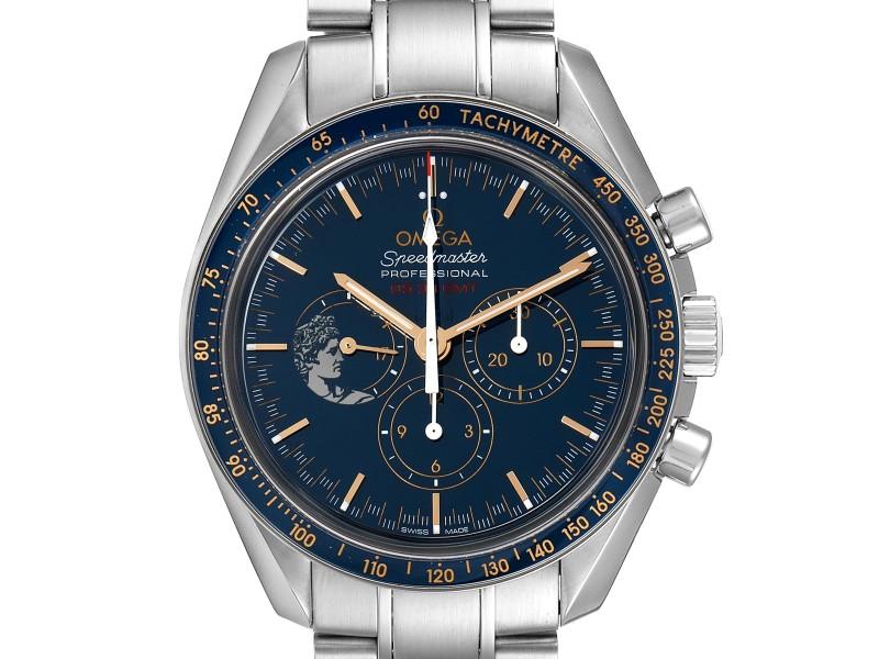 Omega Speedmaster Apollo 17 LE Blue Dial Moonwatch 311.30.42.30.03.001