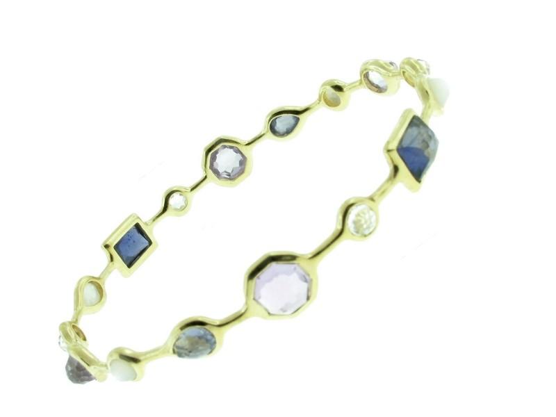 Ippolita Gold Rock Candy Gelato Bangle Bracelet