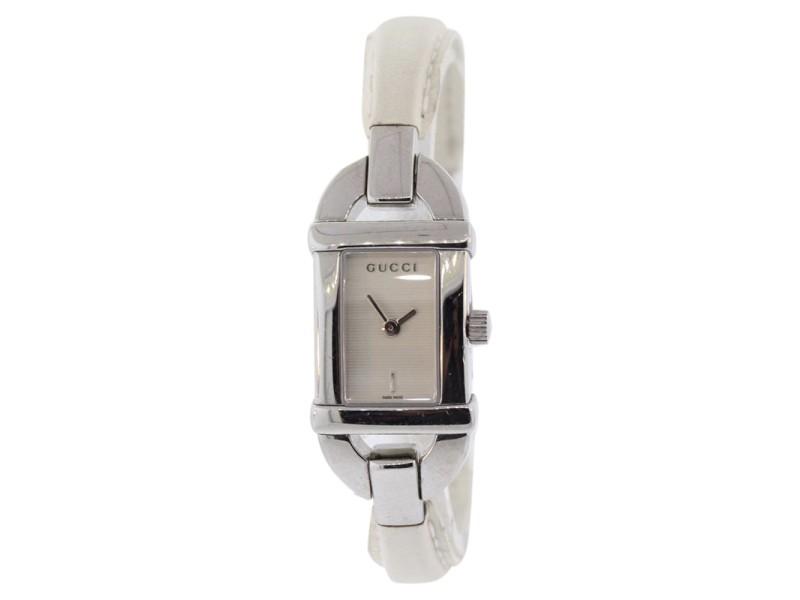 145591ecd32 Gucci Bamboo YA068534 Stainless Steel Quartz 16mm Womens Watch ...