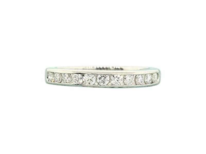 4e01af85c Tiffany & Co. PT950 Platinum with 0.40ct Diamond Wedding Ring Size 6.5