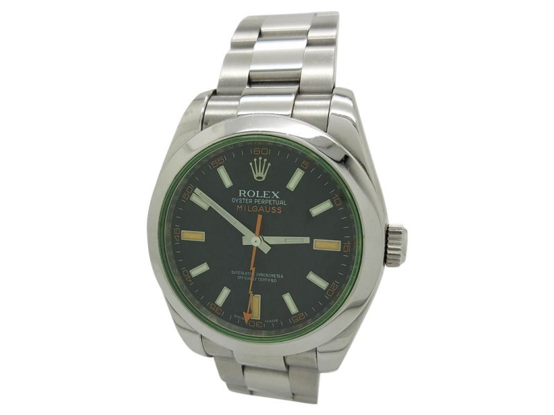 Rolex Milgauss 116400GV 40mm Mens Watch