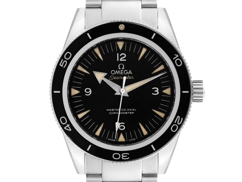 Omega Seamaster 300 Master Co-Axial Mens Watch 233.30.41.21.01.001 Box Card