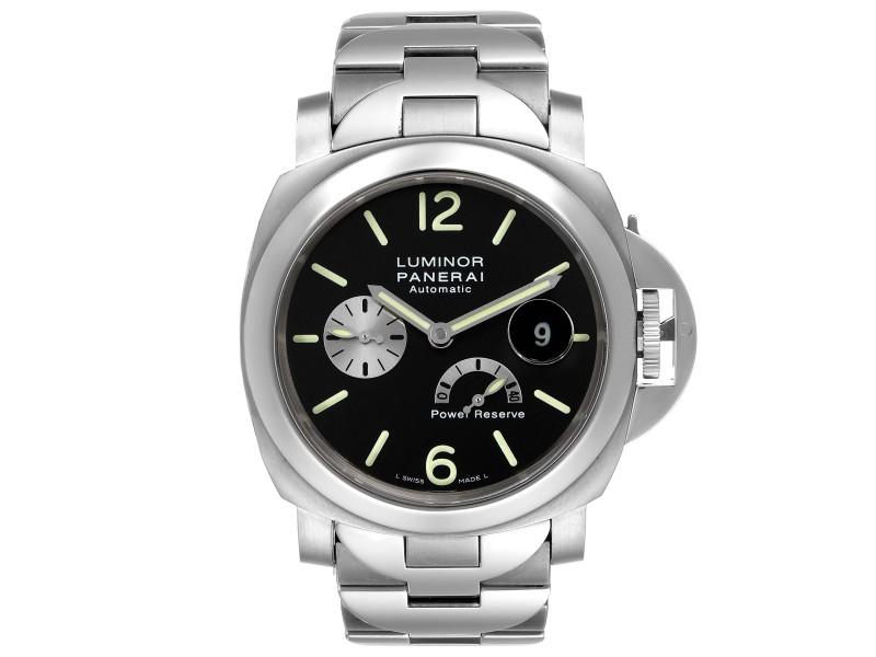 Panerai Luminor Power Reserve Automatic Titanium Mens Watch