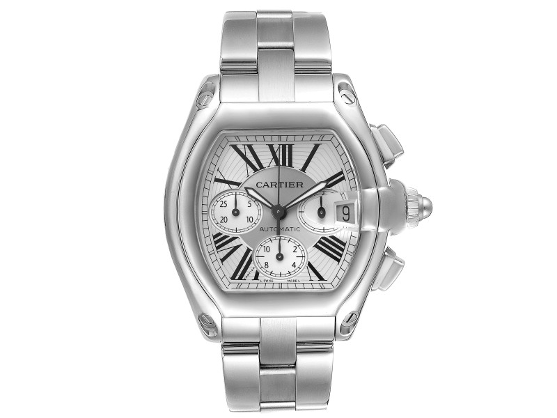 Cartier Roadster XL Chronograph Automatic Mens Watch