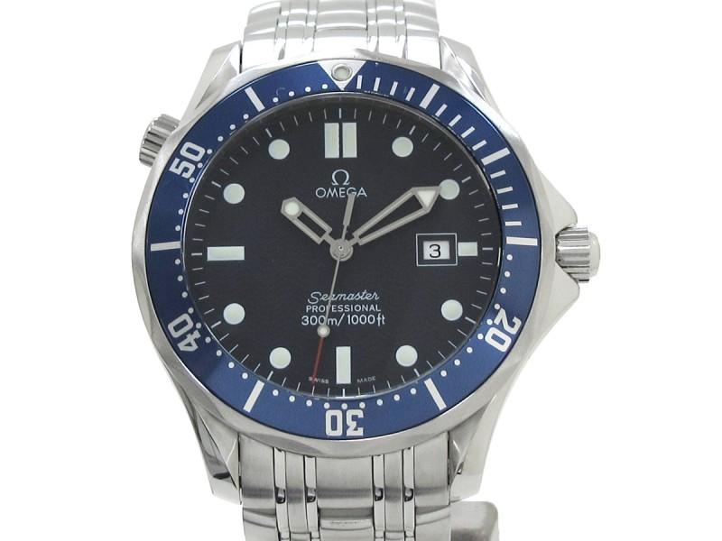 Omega Seamaster Pro 300 Stainless Steel Quartz 41mm Mens Watch