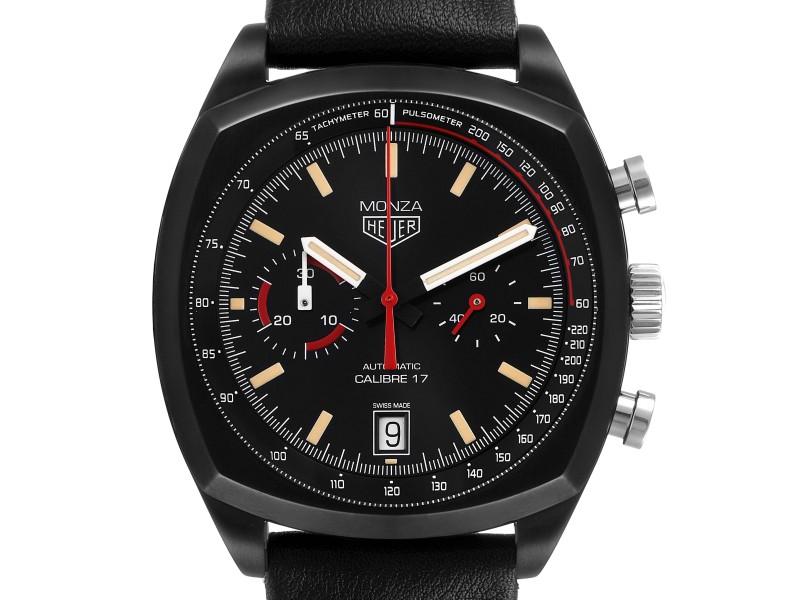 Tag Heuer Monza Heitage Calibre 17 Titanium PVD Limited Watch CR2080 Unworn