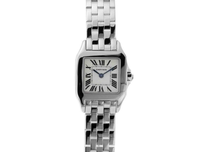 brand new 2a8bf 20516 Cartier Santos W25064Z5 20mm Womens Watch