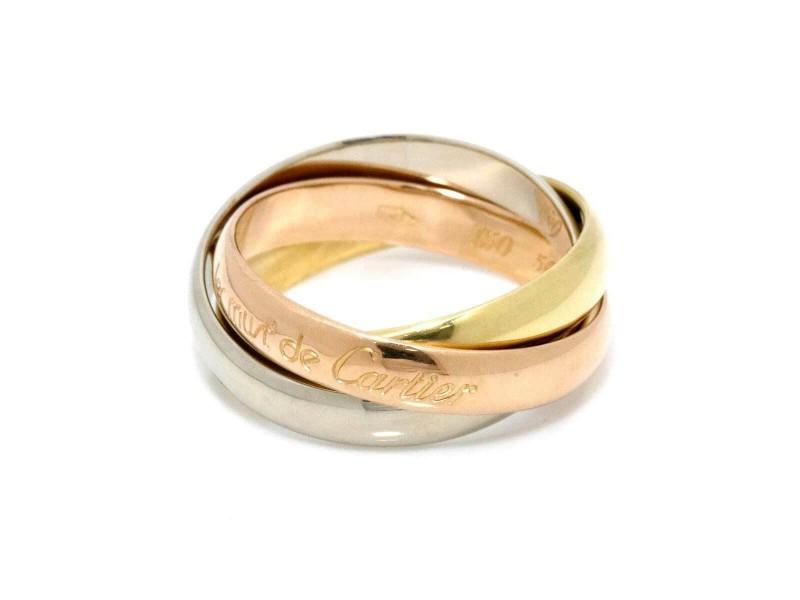 Cartier 18k gold Trinity Ring