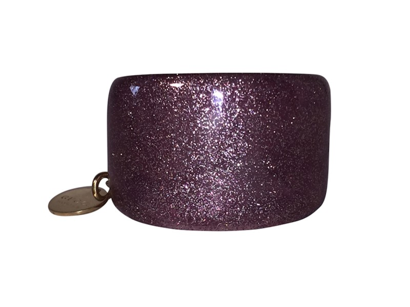959327db2 Gucci Glittered Pink Lucite Cuff Bracelet | Gucci | Buy at TrueFacet