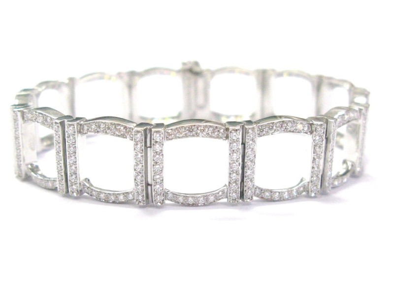 Tiffany & Co. Platinum & Diamond Bracelet