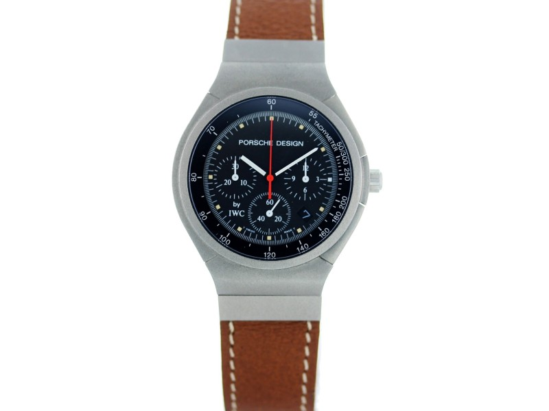 IWC Porsche Design IW3743 36mm Mens Watch