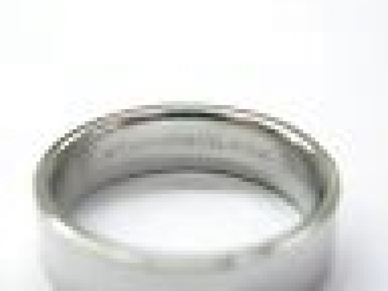 Tiffany & Co PLATINUM Band Ring 6mm Size 9