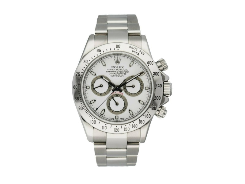 Rolex Daytona Cosmograph 116520 Stainless Steel Men's Watch Box & Papers