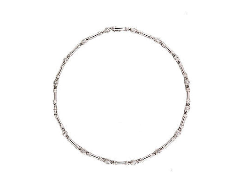 Scott Kay Platinum with 2.35ct. Diamond Necklace