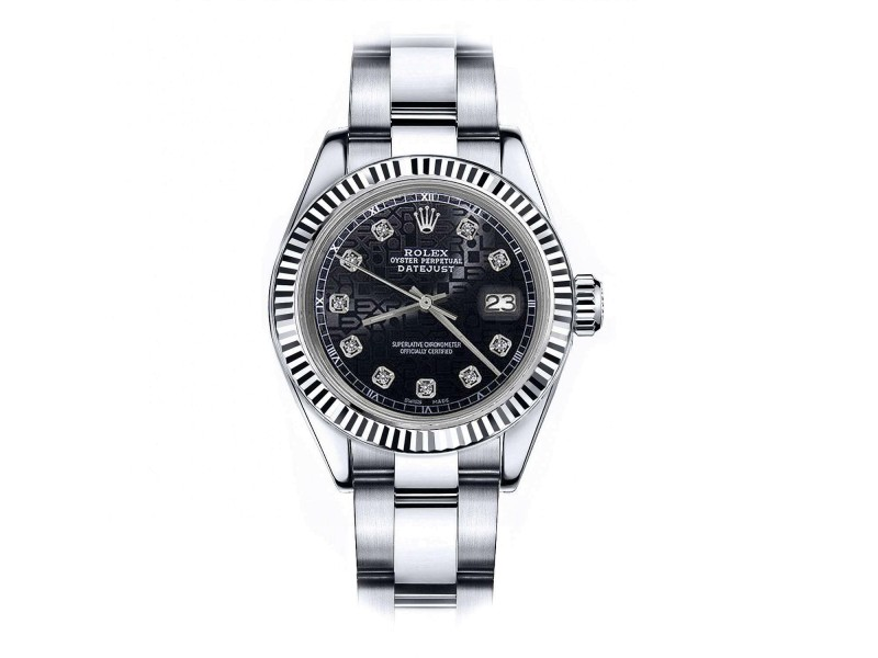 Rolex Datejust 68274 26mm Womens Watch