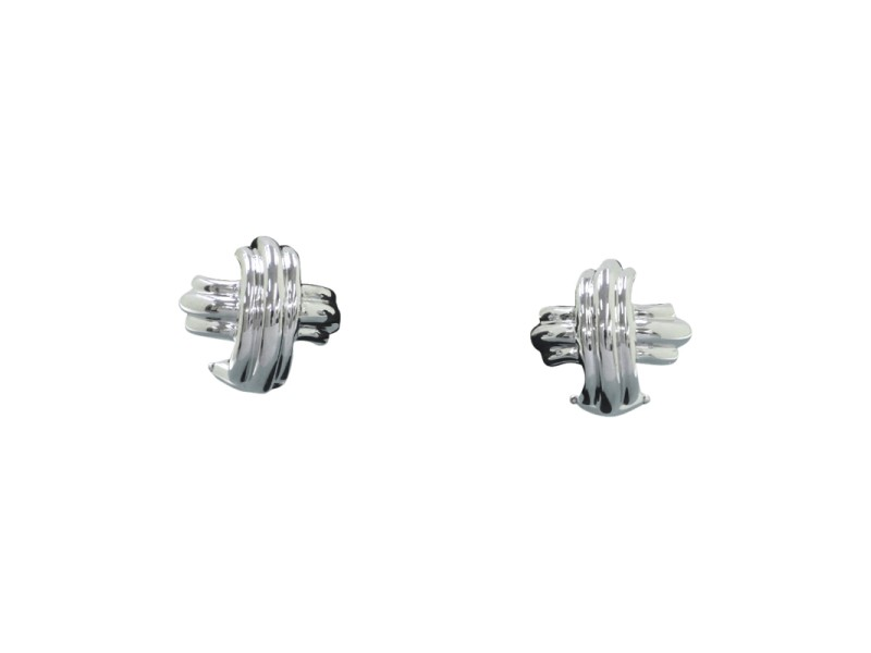 Tiffany & Co. 18K White Gold Earring