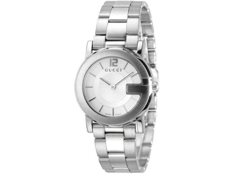 222322362a8 Gucci G-Round YA101506 Stainless Steel Watch