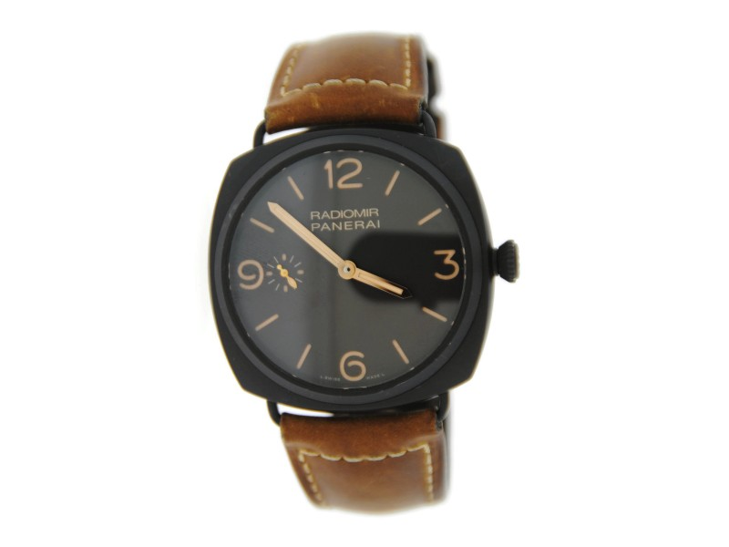 Panerai Radiomir 3 Day  PAM504 Brown Composite Watch