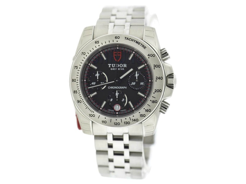 Tudor Sport Chronograph 20300 41mm Mens Watch
