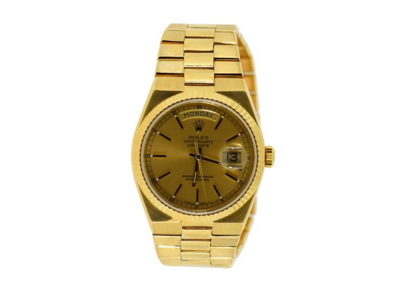 Rolex Day Date 19018 Vintage 36mm Mens Watch