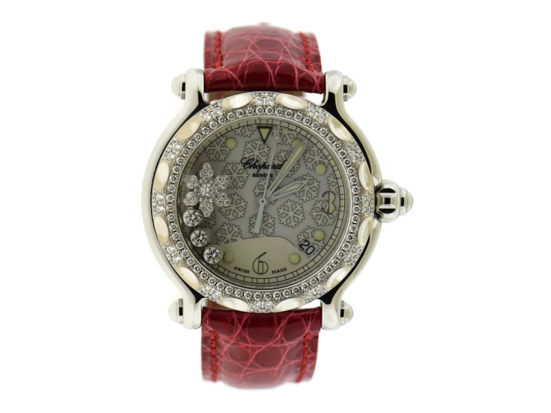Chopard Happy Sport Snowflake 288946 Womens 38.5mm Watch