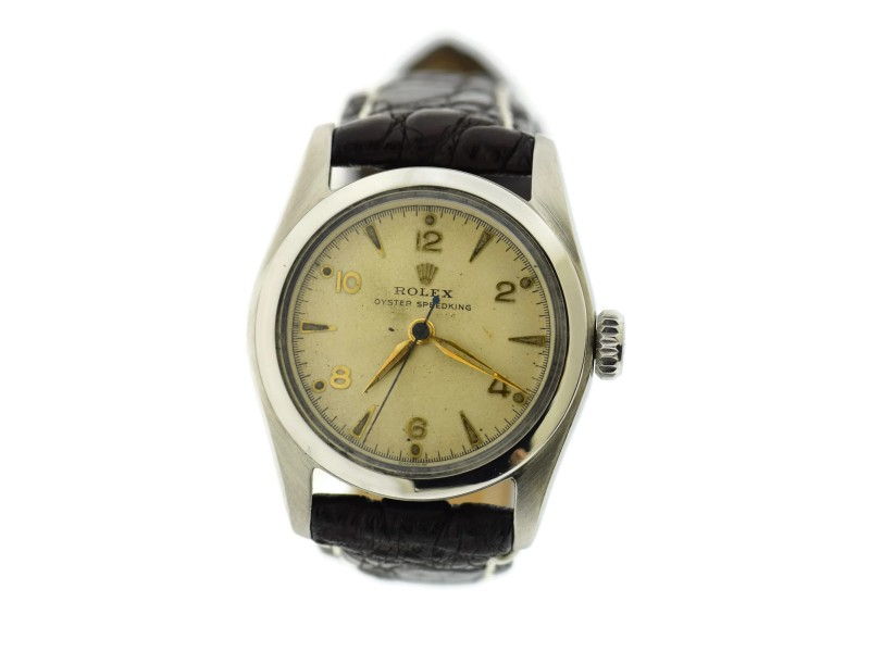Rolex Oyster Speedking 6056 Vintage 30mm Unisex Watch