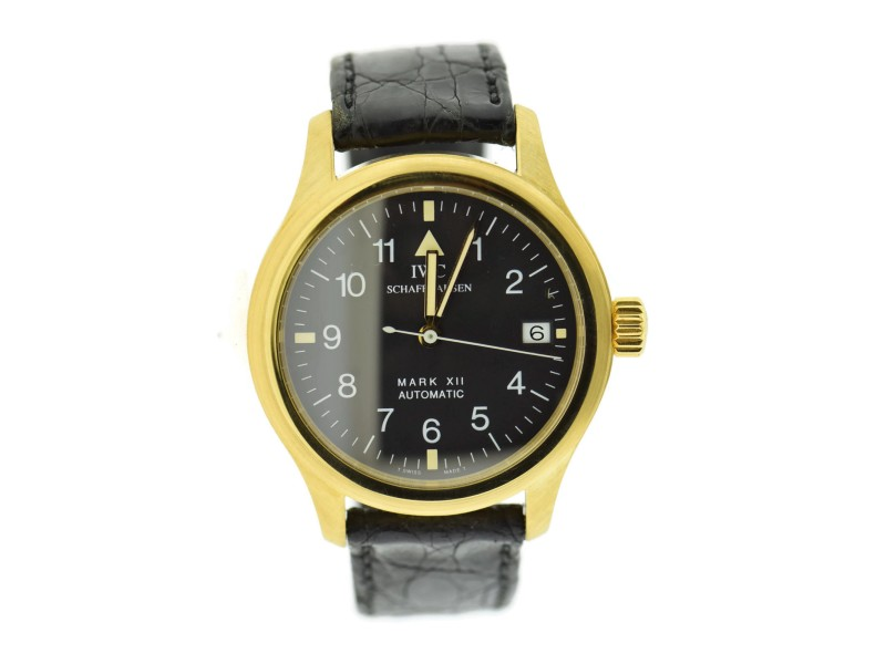 Iwc Pilot 3421 36mm Mens Watch